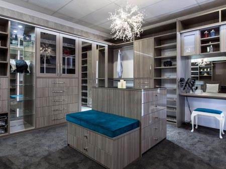 Custom Designed Wardrobes and Dressing Rooms