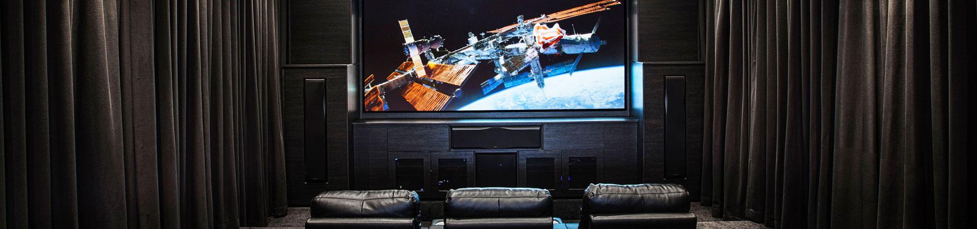Custom Designed Home Theatre