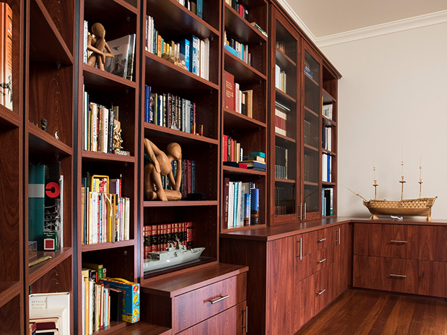 Custom designed bookcase