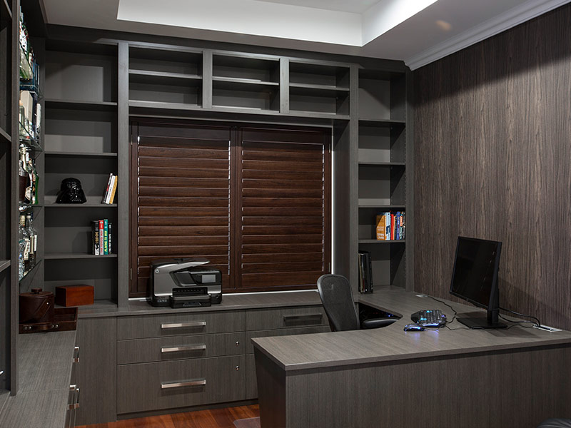 Custom Designed Home Offices and Study Nooks