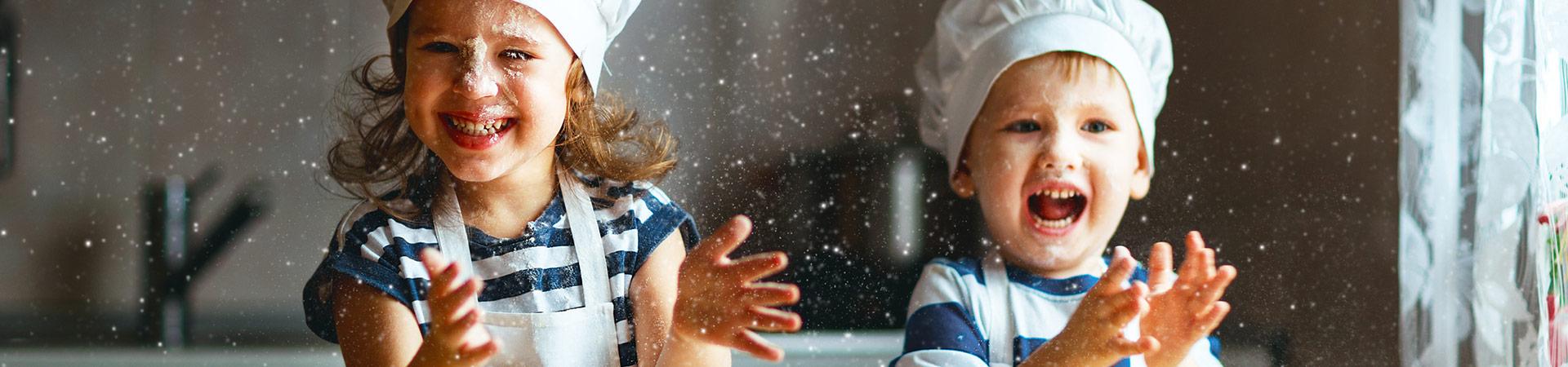 Happy Kids in the Kitchen